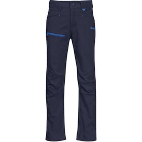 Bergans Lilletind LT Softshell Pantalon Enfant, navy/athens blue